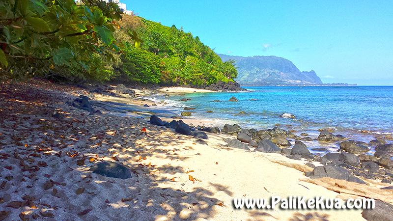 Pali Ke Kua Beach Also Known As Hideaways